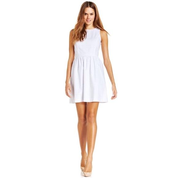 ffb65da9f4c62 White Kensie Eyelet Dress Sz S
